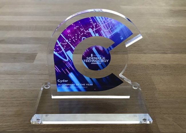 Cambridge AI Company award